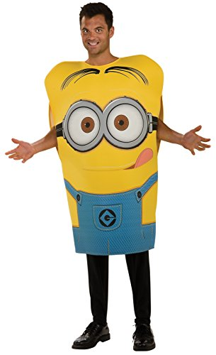 Rubie's Despicable Me 2 Dave Minion Adult Foam Costume - Standard (One-Size)