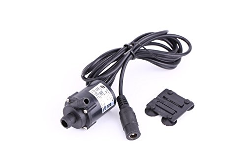 Low Pressure Micro Brushless Submersible Motor Water Pump DC 6V 12V Solar Cooling 200L/H