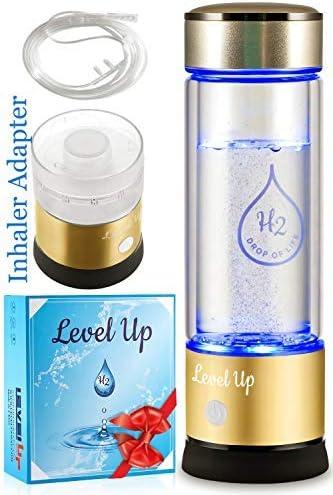 Hydrogen Water Bottle Generator By LevelUpWay