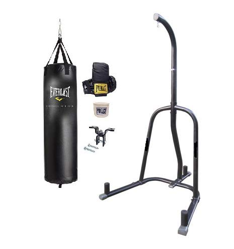 Everlast Punching Bag Everlast Heavy Bag Kit with Stand – DiZiSports Store