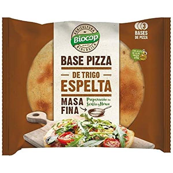 Biocop Base Pizza Masa Fina Espelta 390 Gr Envase De 390 Gramos ...