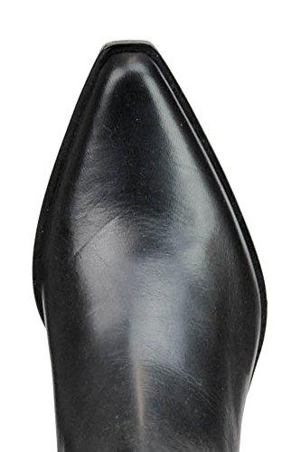Stiefeletten Schwarz Leder MCGLCAS03022E Diesel Damen Black Gold f0wqZZHY