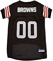 NFL Cleveland Browns Dog Jersey, Medium