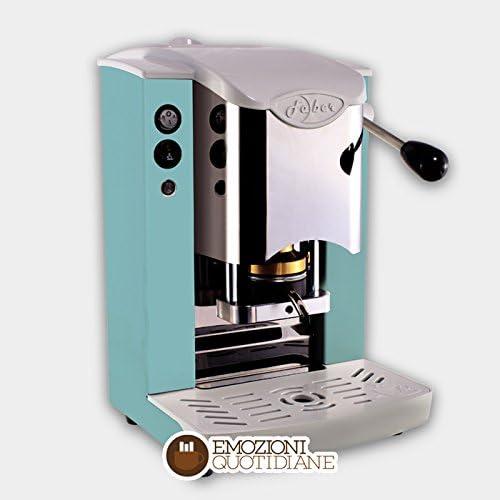 Máquina de café de monodosis de papel Ese 44 mm Faber Slot inoxidable Color verde manzana: Amazon.es: Hogar