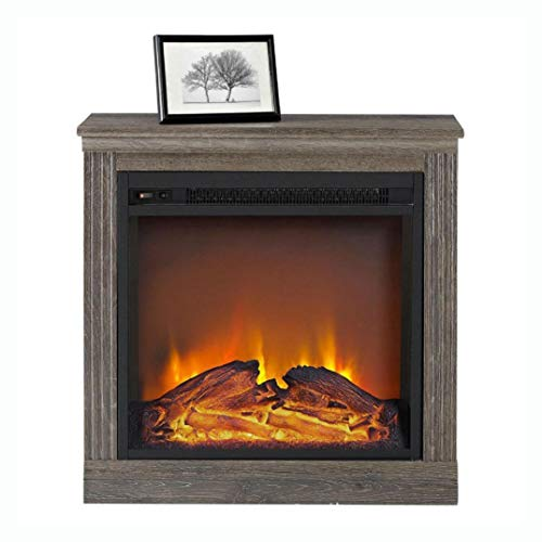 Cheap Electric Fireplaces Ventless Electric Fireplace in Espresso Wood Finish Black Friday & Cyber Monday 2019