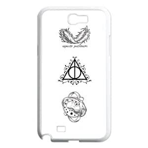 Chinese Harry Potter Customized Phone Case for Samsung Galaxy Note 2 N7100,diy Chinese Harry Potter Case