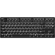 CM Storm QuickFire Rapid-i Fully Backlit Mechanical Gaming Keyboard with ActivLite Technology and Per-Key Lighting (Blue Switch Model)