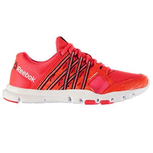 Reebok YOURFLEX Turnschuhe Damen Cherry/WHT/BLK Sneakers Sport Schuhe Schuhe