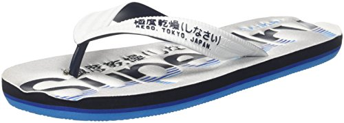 Superdry Darkest Flip Hombre Multicolor Chanclas Of3 Flop Navy para Optic White Tricolour z1qraz