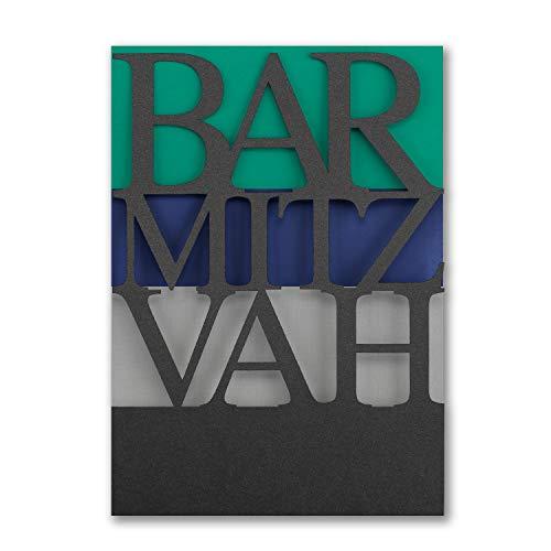 575pk Color Bands - Bar Mitzvah - Invitation-Bar & Bat Mitzvah ()