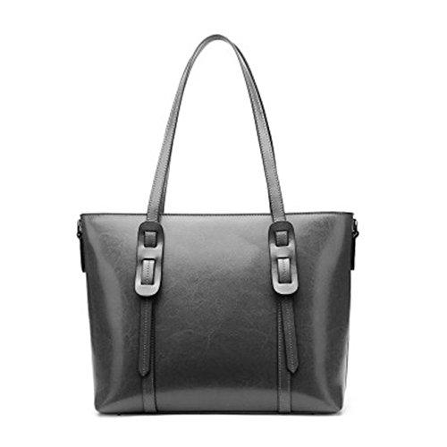 nuptiale sac sac à sac épaule en tout à main femmes mode à mariage main d'embrayage parti cuir SANSJI Gris main de soirée fourre wvqYn6
