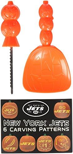 NFL New York Jets Pumpkin Carving (New York Jets Halloween Costumes)