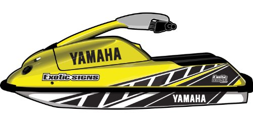 Exotic Signs Yamaha Round nose Superjet Graphic Kit - EY0041SUP ()
