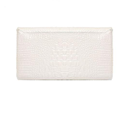Bag For Prom Shoulder Leather Banquet Shoulder Detachable Party One Strap Clutch Wedding Diagonal Evening White Women's xPIAvv