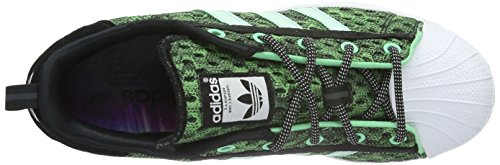 adidas Men's Superstar GID Skateboarding Shoes Green (Core Black/Shock Mint/Ftwr White) Qytm0eba