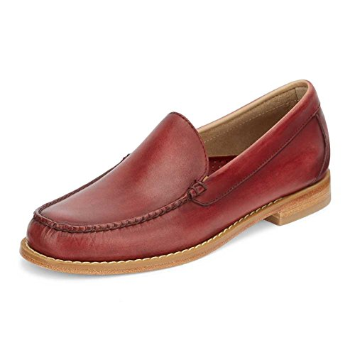 Gh Bass & Co. Mens Lance Penny Mocassino Rosso