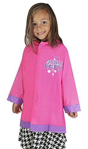 with Girls Frozen Raincoats design