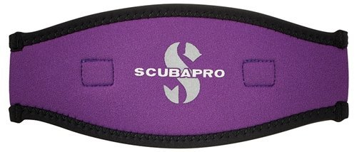 ScubaPro Neoprene Mask Strap Cover (Purple) - Slap Strap