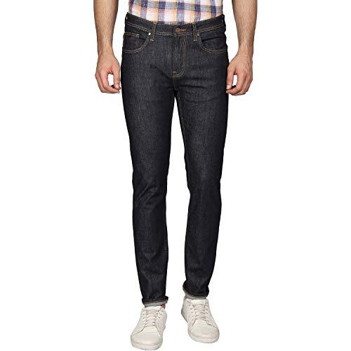 blackberrys Skinny Fit Mens Black Coloured Jeans