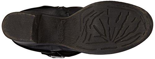 Dockers 35CP307 - botas de combate de material sintético mujer negro - negro