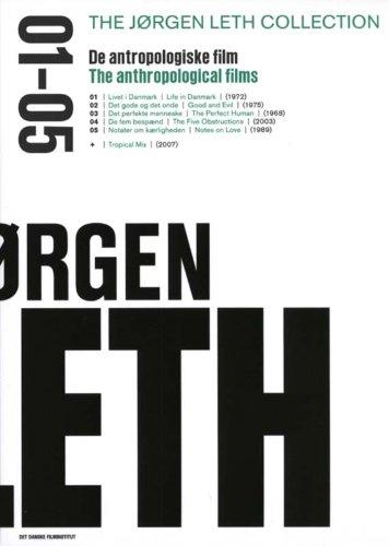Jørgen Leth Collection 01-05 - 3-DVD Box Set ( Livet i Danmark / Det gode og det onde / Det perfekte menneske / De fem benspænd / Notater om kærligheden (Hove Collection)