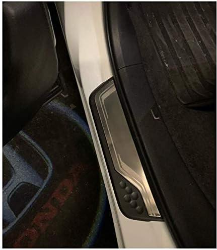 Lfotpp Edelstahl Einstiegsleisten Abdeckung Für Crv Türschweller 4 Stück Auto