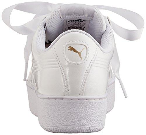 Puma P Zapatillas 2 puma Puma Mujer Platform White White para Vikky Ribbon Blanco tf4rfq
