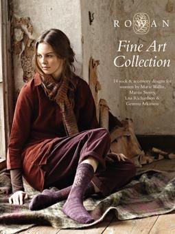 Rowan Fine Art Collection Pattern Book FW13