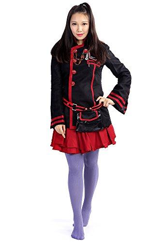[D.Gray-Man Cosplay Costume Lena Lee Lenalee Exorcist Uniform 3rd Version Set] (Exorcist Halloween Costume Uk)