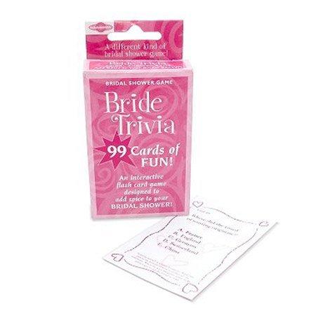 Bridal Shower Bride Trivia