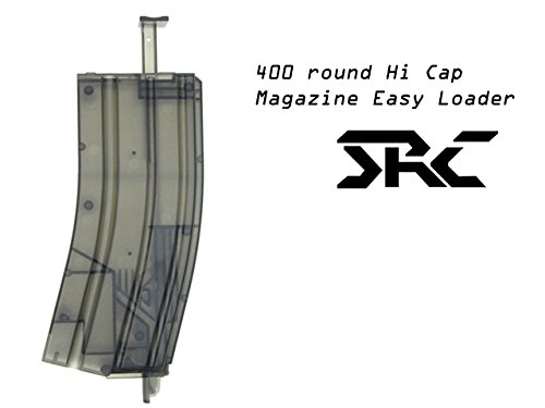 SRC Hi-Cap 400rd M4 Style Speed Easy Loader for Airsoft AEG Magazine by SRC
