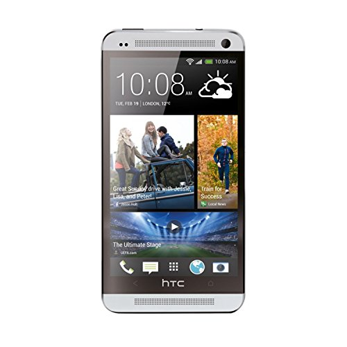 HTC One M7, Silver 32GB (AT&T) - Htc Bluetooth Gps
