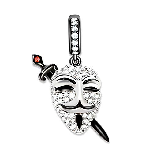 GNOCE Charm Sterling Silver with CZ