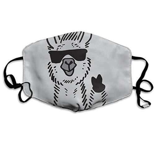 YUANSHAN Dust Mask No Drama Llama Outdoor Mouth Mask Anti Dust Mouth Mask Man Woman