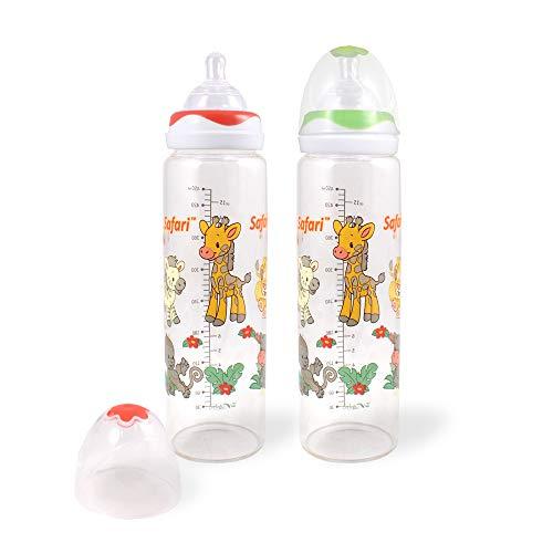 Rearz - Safari - Adult Glass Baby Bottle (Green)