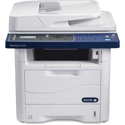 Xerox Corporation - Xerox Workcentre 3315/Dn Laser Multifunction Printer - Monochrome - Plain Paper Print - Desktop - Copier/Fax/Printer/Scanner - 33 Ppm Mono Print - 1200 X 1200 Dpi Print - 33 Ipm Mono Copy (Iso) - 4800 Dpi Optical Scan - Automatic Duple