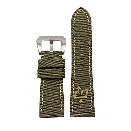 Choco&Man US Panerai Calfskin Leather Watch Band Replacement for Men's Panerai Watches