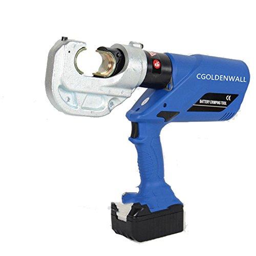 cgoldenwall HL-400 batería hidráulica crimpadora herramientas alicate hidráulica eléctrica hidráulico inalámbrico crimpadora 16?400 mm²: Amazon.es: ...