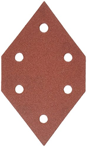 PORTER-CABLE 767602205 220 Grit Diamond-Shaped Hook & Loop Profile Sanding Sheets (5-Pack) (220 Grit Diamond)
