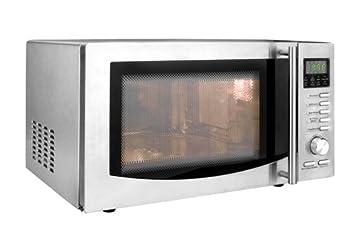 Lacor 69323 - Horno microondas con plato giratorio, 1000 W, de 23 litros,