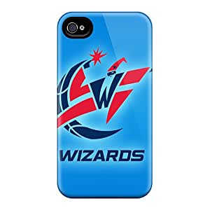 Spigencases NZz227XqyV Case Cover Iphone 4/4s Protective Case Washington Wizards