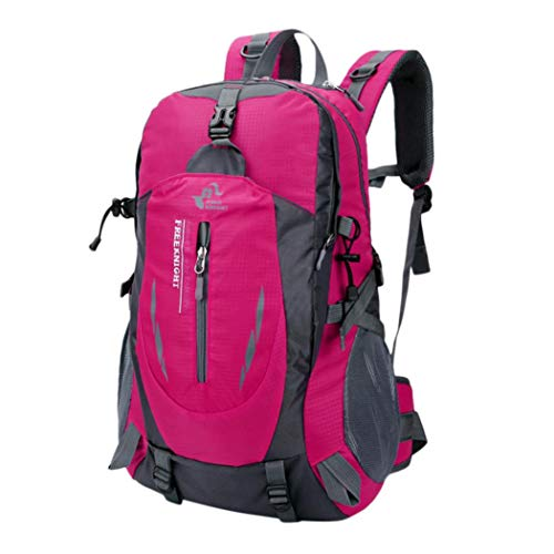 Outdoor Trekking Traveling Backpack,Waterproof Children Kids Boys Girls School Bookbag Classic Basic Casual Daypack (Pink) by Outsta Bags