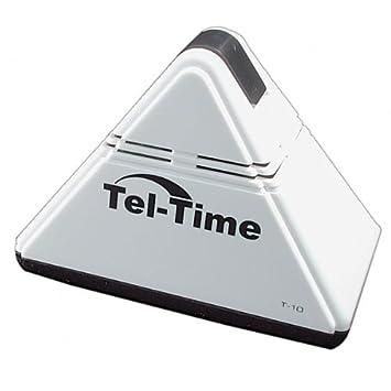Amazon.com: tel-time Pirámide – Reloj despertador altavoz ...