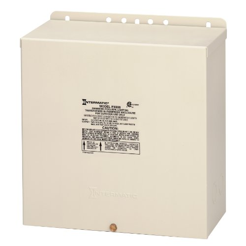 Intermatic PX600 Pool Light 600-Watt Safety Transformer, Beige by Intermatic