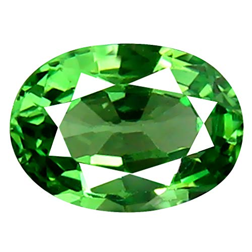 0.47 ct Oval Cut (6 x 4 mm) Un-Heated Tanzanian Tsavorite Garnet Loose Gemstone