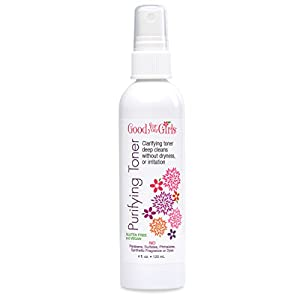 Good For You Girls Purifying Toner with Witch Hazel and Willow Herb Extract, 4 oz by Good For You Girls