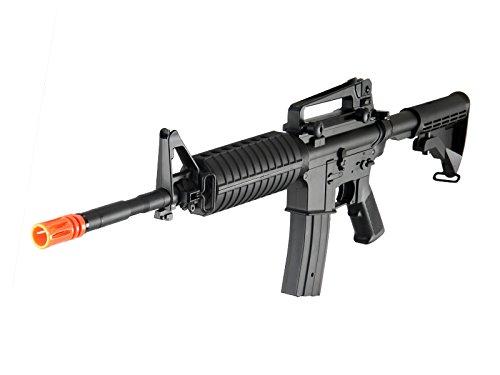 MetalTac F6604 Carbine Electric AEG Full Metal Gearbox, Black