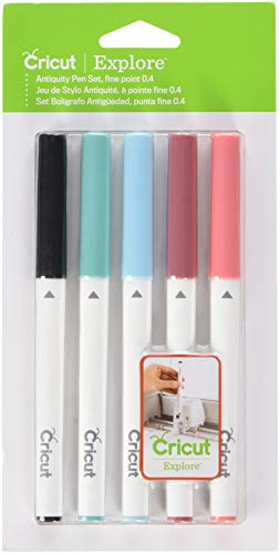Cricut 2003450 Color Antiquity Fine Point Pen Set Assorted, Multi