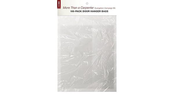 more than a carpenter evangelism campaign door hanger bags 100pack josh d mcdowell sean mcdowell amazoncom books