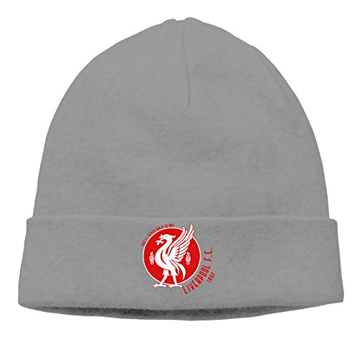 DETO Men's&Women's Liverpool Football Club Patch Beanie SkatingDeepHeather Cap (Club Penguin Basketball)